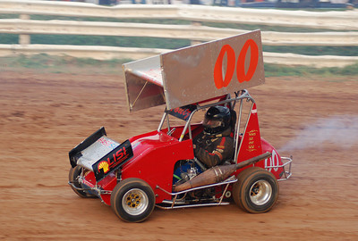 Clinton County 09-18-09 Micro Sprints
